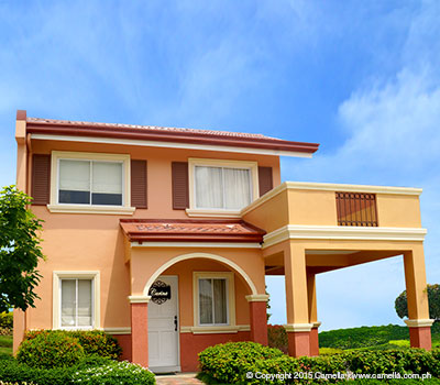House for Sale inside Camella Homes